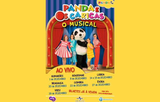 Panda e Os Caricas O Musical ao Vivo